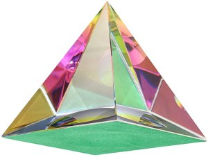 03-Pirámide Energía Cristal iridiscente 6cm