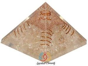 02-Pirámide Energía Orgonita Blanca