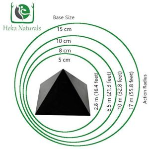 04-Pirámide Energía Shungita pulida 15cm