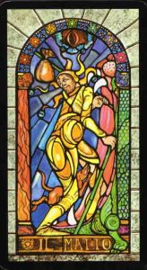 Stained Glass Windows Tarot  El Loco
