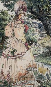 Tarot of Jane Austen cards  El Loco