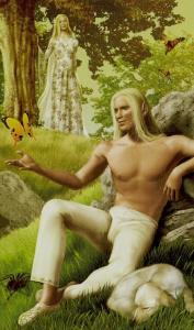 Tarot of the Elves  El Loco