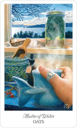 09-The Herbcrafter's Tarot