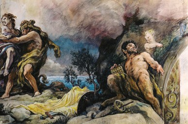 Escena mitológica