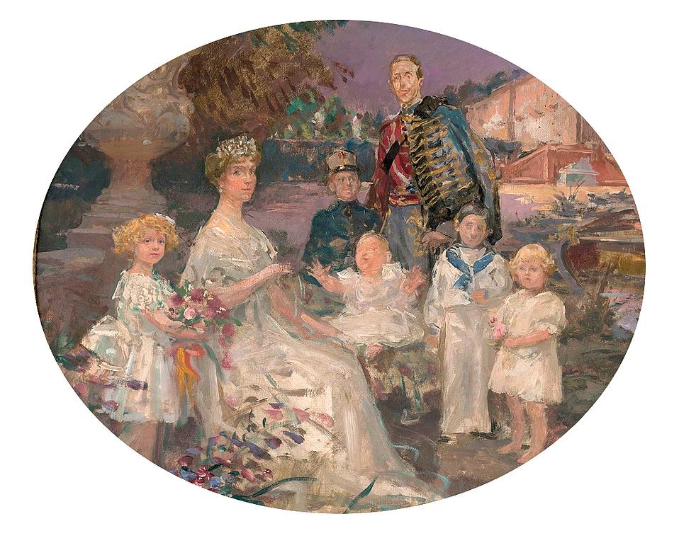 Familia Real (boceto)