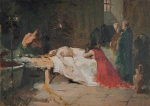 Muerte de Lucano (boceto)