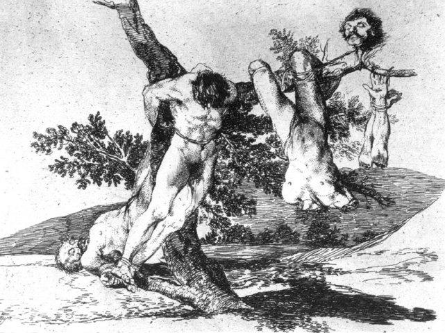 Goya: Los desastres de la guerra. Exposiciones Museo Gustavo de Maeztu