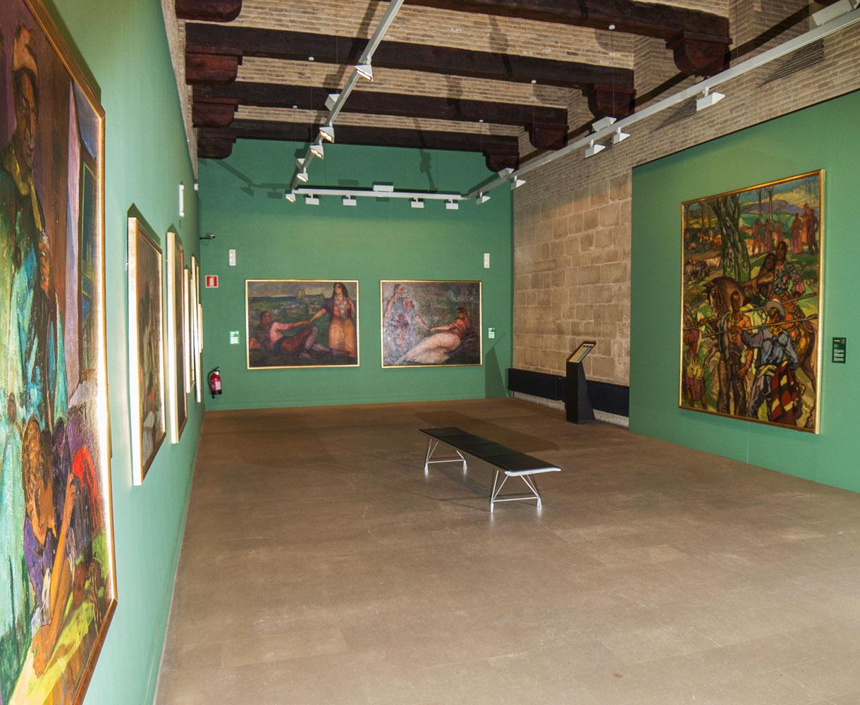 Sala 4 Museo Gustavo de Maeztu. Estella-Lizarra