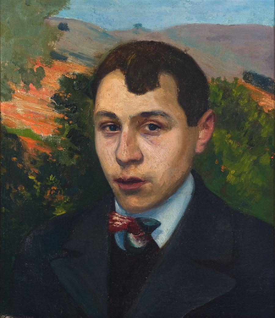 Autorretrato. ID 016. Corpus Online Museo Gustavo de Maeztu