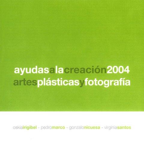 Ayudas a la creación 2004. Catalogos museo Gustavo de Maeztu
