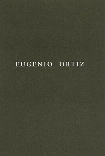 Eugenio Ortiz. Catálogos museo Gustavo de Maeztu