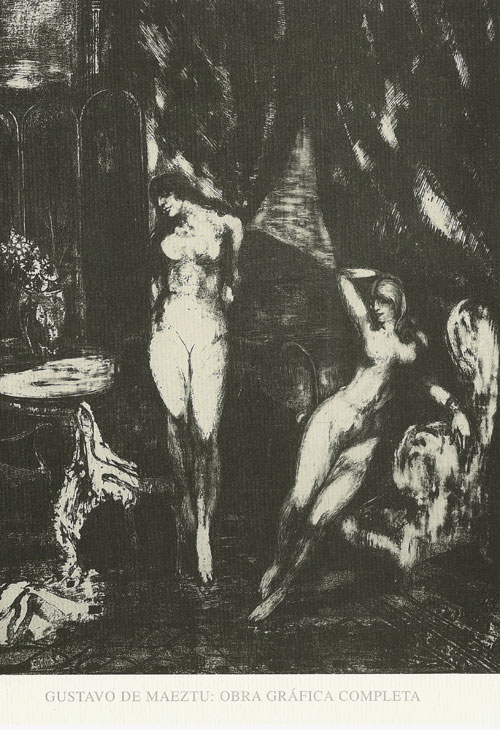 Gustavo de Maeztu. Obra gráfica completa. Publicaciones Museo Gustavo de Maeztu