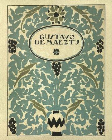 Gustavo de Maeztu. José Francés. Publicaciones Museo Gustavo de Maeztu