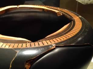 Dinos attico con firma di Exekias dal Museo di Villa Giulia di Roma