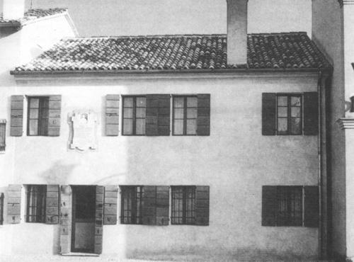 La casa natale di Giuseppe Sarto
