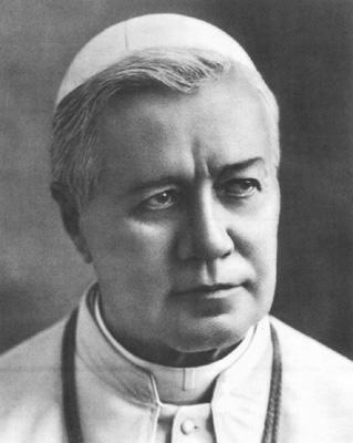 Pio X (Giuseppe Melchiore Sarto) papa dal 1903 al 1914