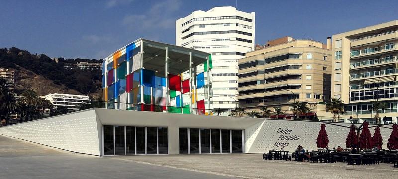 Museo Pompidou.Centro Pompidou Malaga