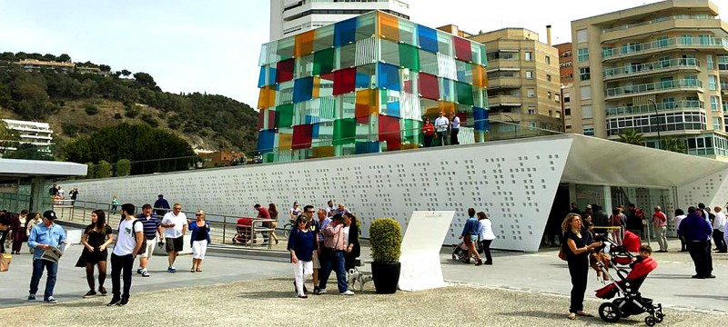 Museo Pompidou.Centre Pompidou Malaga