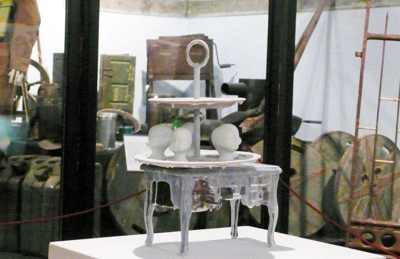Paolo Buzzi – Selvatico – E Bianca – Una parola diversa per dire latte – Alfonsine – Museo della Battaglia del Senio – Innesti. O dei meccanismi evolutivi degli oggetti