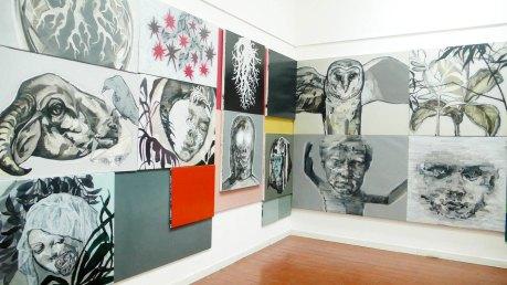 Massimiliano Fabbri – Selvatico TRE – Il buco dentro agli occhi o il punto dietro la testa – Cotignola Museo Civico Luigi Varoli