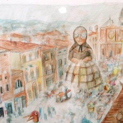 "Marina Girardi, Tavola per ""L'Argine"""