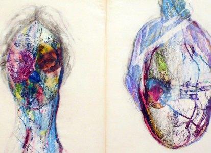 Eldi Veizaj – Selvatico TRE – Il buco dentro agli occhi o il punto dietro la testa – Fusignano Museo Civico San Rocco