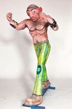2009, L'uomo forzuto, La diaspora degli abitanti dell'arti e mestieri