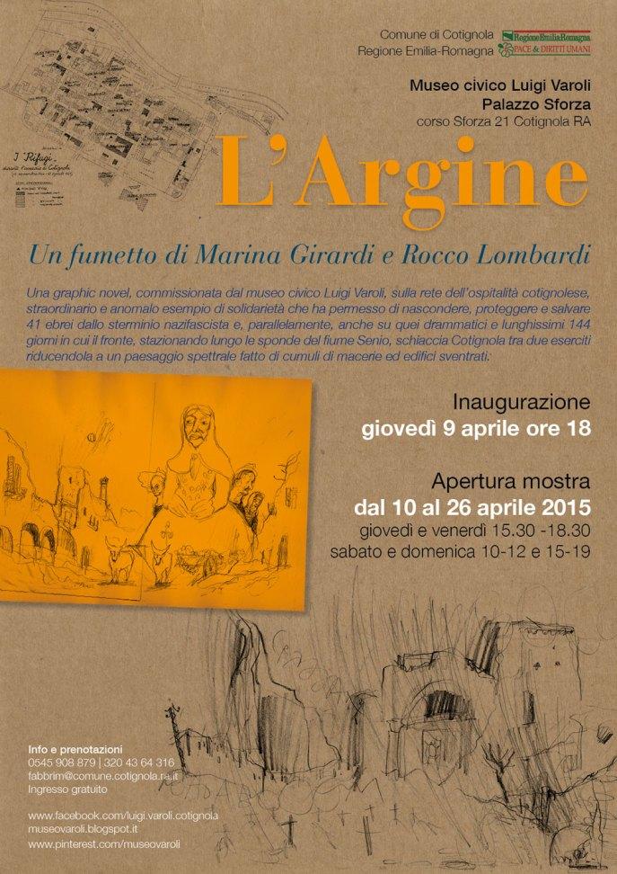 """Manifesto """"L'Argine"""""""
