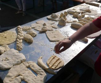Facciamo il pane in piazza