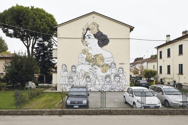 """Signora K, """"Lucia degli Attendoli"""", 2016 (ph. Daniele Casadio)"""