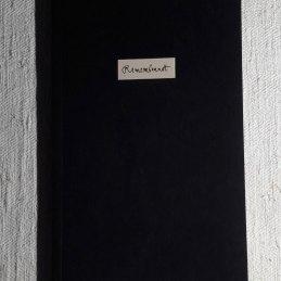 n.76, Franco Pozzi, Remembrandt, NFC Edizioni, 2017, stampato in 250 copie numerate, testi: Sabrina Foschini, disegni: Lucas Brunnen (Franco Pozzi), copia n. 81/250 con due disegni originali