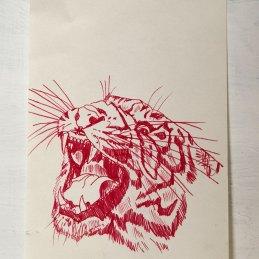 n.116 Reve+, Senza titolo, Inchiostro su carta, 21x13,7 cm