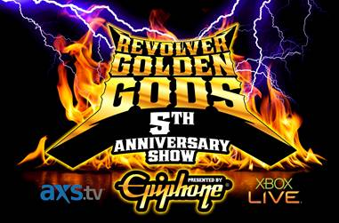 5th Annual Revolver Golden Gods Awards Show Press Conference