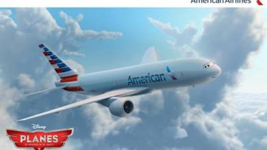 "Photo of AMERICAN AIRLINES AND DISNEY LAUNCH HIGH-FLYING COLLABORATION WITH ""DISNEY'S PLANES"""