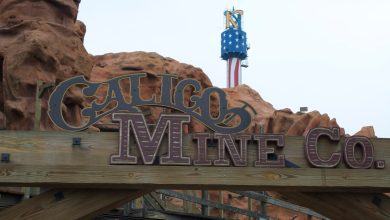 Photo of Knott's Berry Farm's Calico Mine Ride and Camp Snoopy To Reopen Soon