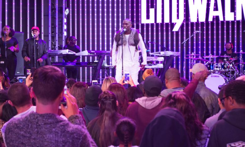 Tyrese at CityWalk