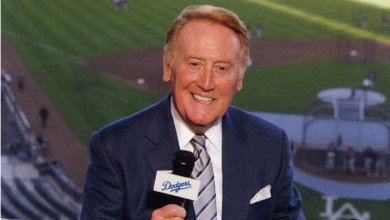 Photo of Vin Scully's Last Season on the Air
