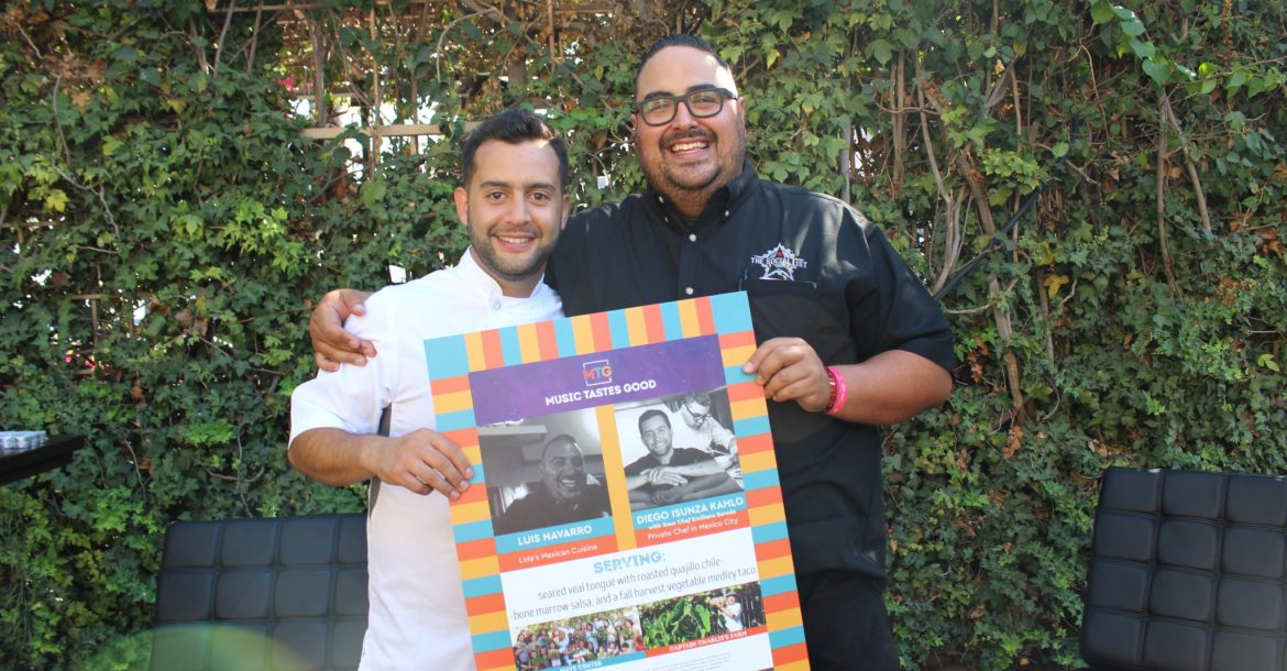 Luis Navarro and Diego Isunza Kahlo of Lola's Mexican Cuisine