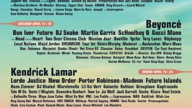 Photo of Coachella Lineup To Feature Beyonce, Radiohead, Kendrick Lamar and More