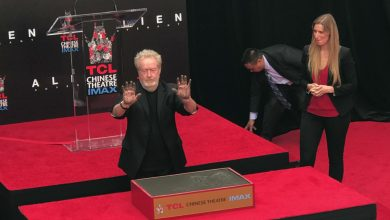 Photo of Ridley Scott at the Hand & Footprint Ceremony TCL Chinese Theatre
