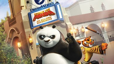 Kung Fu Panda DreamWorks Theatre at Universal Studios Hollywood
