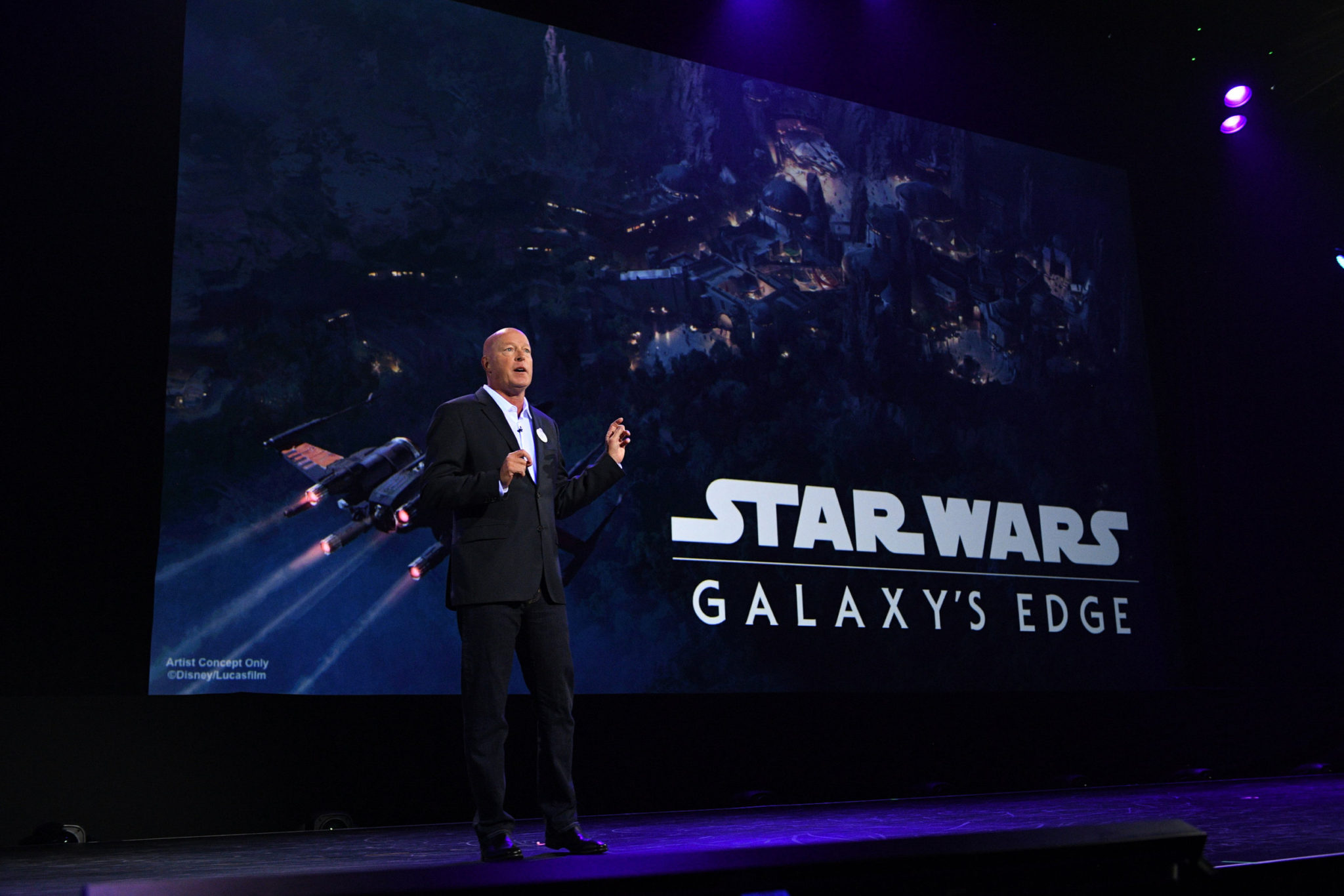 Star Wars: Galaxy's Edge BOB CHAPEK (CHAIRMAN, DISNEY PARKS AND RESORTS)