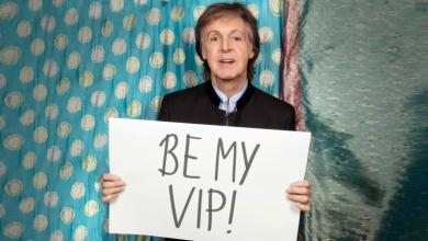 Photo of Paul McCartney Launches Campaign with Omaze