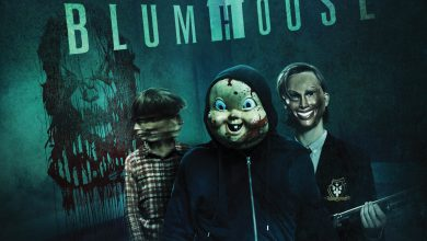 The Horrors of Blumhouse - HHN at USH Key Art (logo)