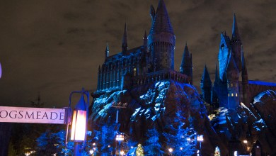Christmas at Hogwarts The Wizarding World of Harry Potter Universal Studios Hollywood