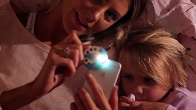 Photo of Natalie Rebot's Moonlite Story Projector Great For Last Minute Holiday Gifts