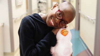 Photo of My Special Aflac Duck Helps Children with Cancer