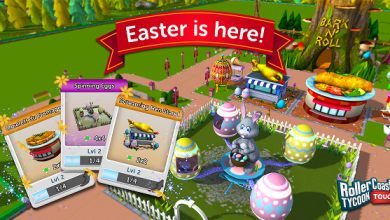 Photo of RollerCoaster Tycoon Touch Receives An Egg-citing Easter Update
