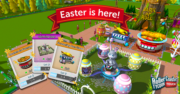 Rollercoaster Tycoon Easter