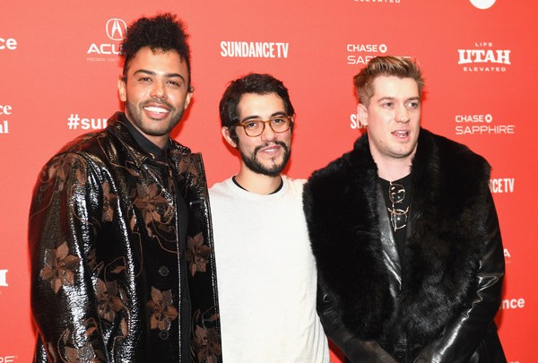 Carlos Lopez Estrada with Daveed Diggs and Rafael Casal at Sundance Film Fest Blindspotting